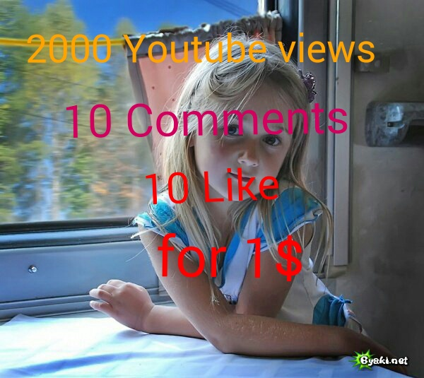 I will give you 1000+ youtube views+ 20 subscribers+ 20 youtube likes,+20 comments