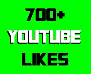 700+ Youtube likes Real & Non-drop