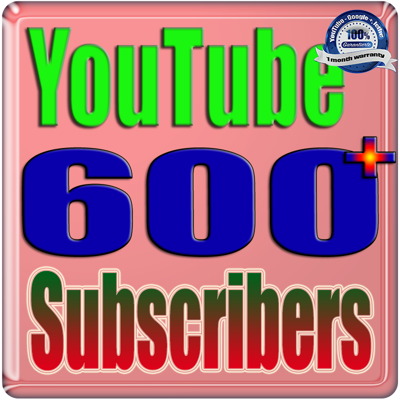 We Will Add 600+ Real Subscribers and 1000+ Views You;Tube Safe Fast and Non Drop