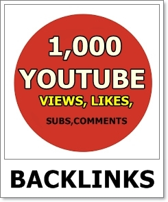 1,000 Youtube Views 50 Likes 5 Subscriber 3 Comments