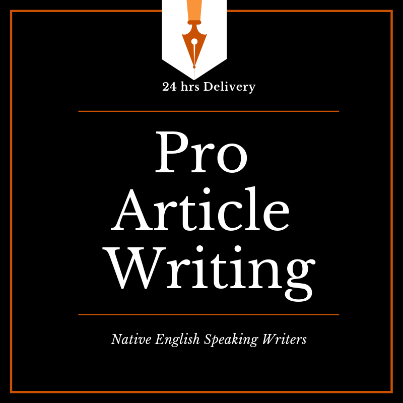500 Words Pro Article Writing Fast Delivery - 24 hrs ...