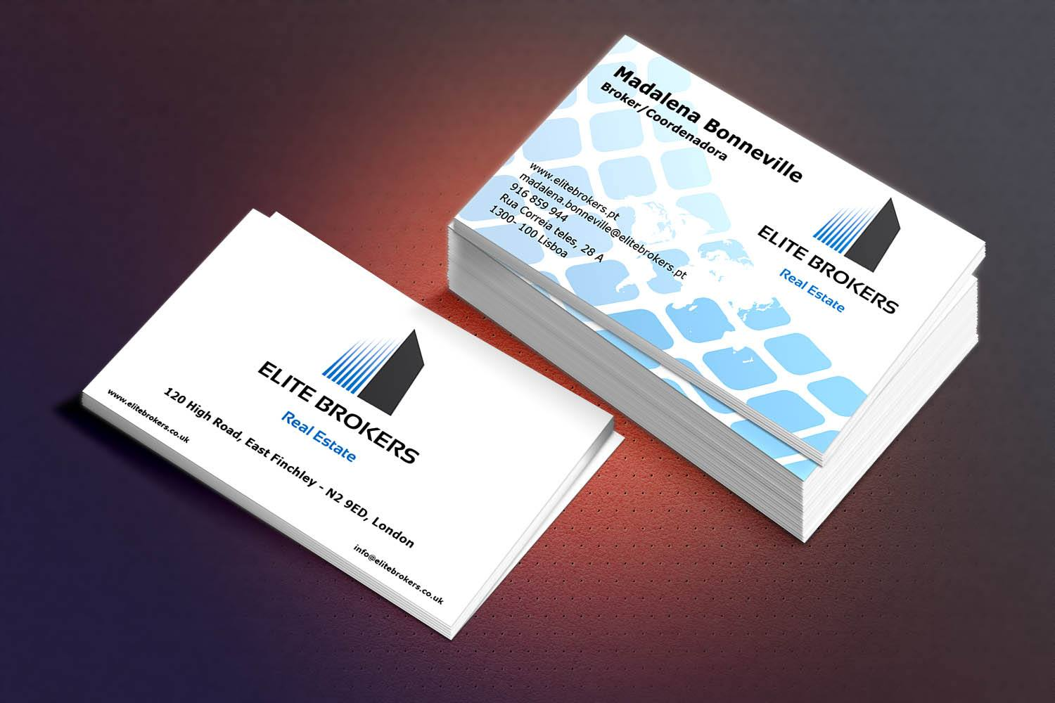Design Eye Catching Business card with Unlimited Revision in 24 Hrs