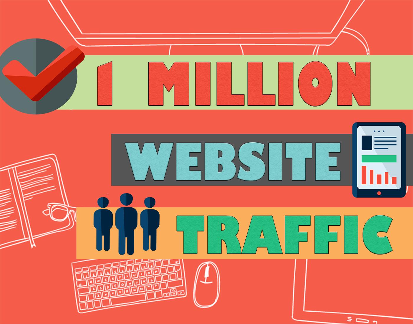 1 Million Website Traffic in 10 days