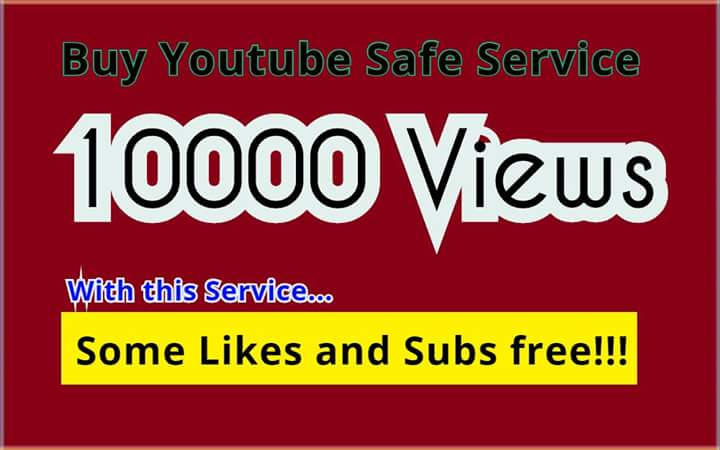 Get 10,000 Safe and High Quality  Video Views with some Likes and Subscriber free