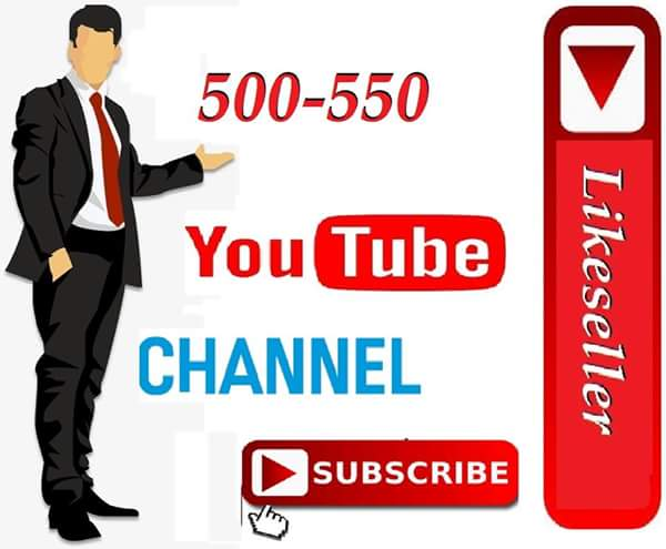Manually  700++ To 800  youtube Subscribe Or 1000 yt like Or 100 Custom comment 12-24  Hours delivery