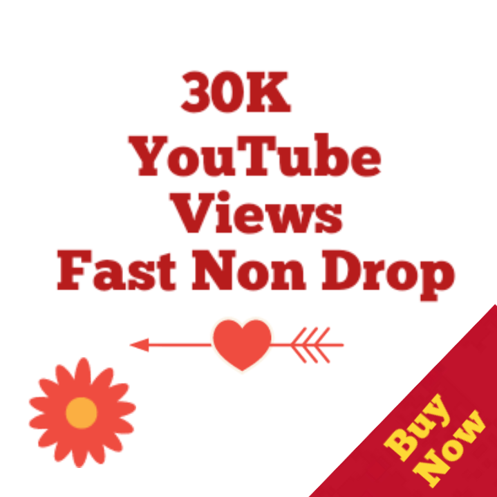 Safe 20,00-30,000 Youtube Vie ws High quality Non drop very fast