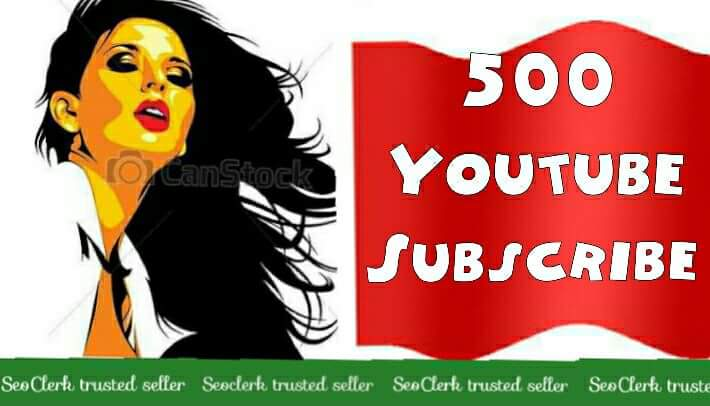 500+Youtube subscribers Or 1000+Youtube Like Or 12000 Youtube Views complete very fast any Drop Life-Time Guaranteed Refill