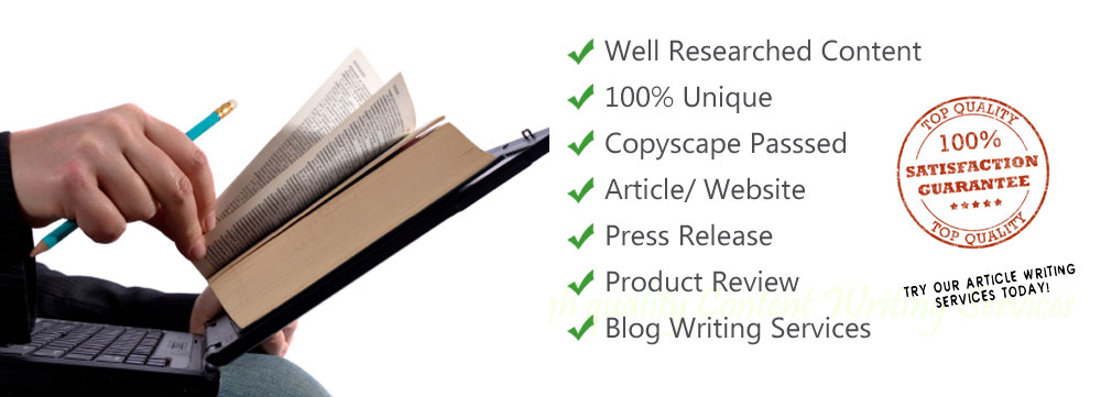 Content Writing Services as Per Your Needs