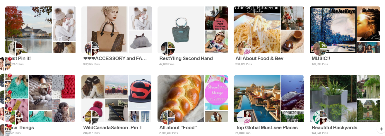 invite you to to More 450 Active Pin Board