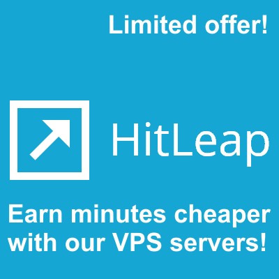 Run your 10 Hitleap Sessions on our stable VPS Servers 24x7 for 30 Days 2018
