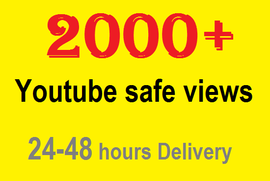 2000 YouTube views High Retention