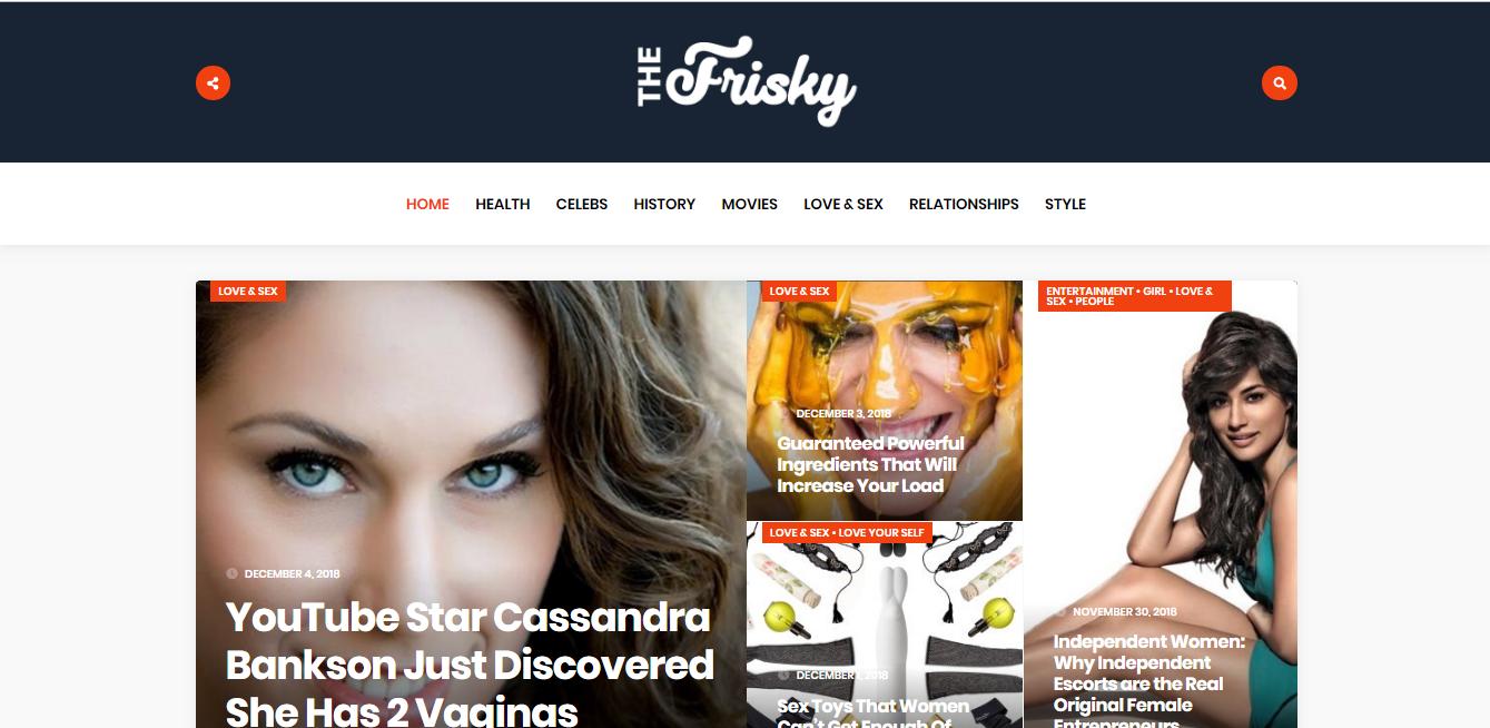 Publish Guest Post on Thefrisky.com DA 76 - Premium Dofollow Backlink