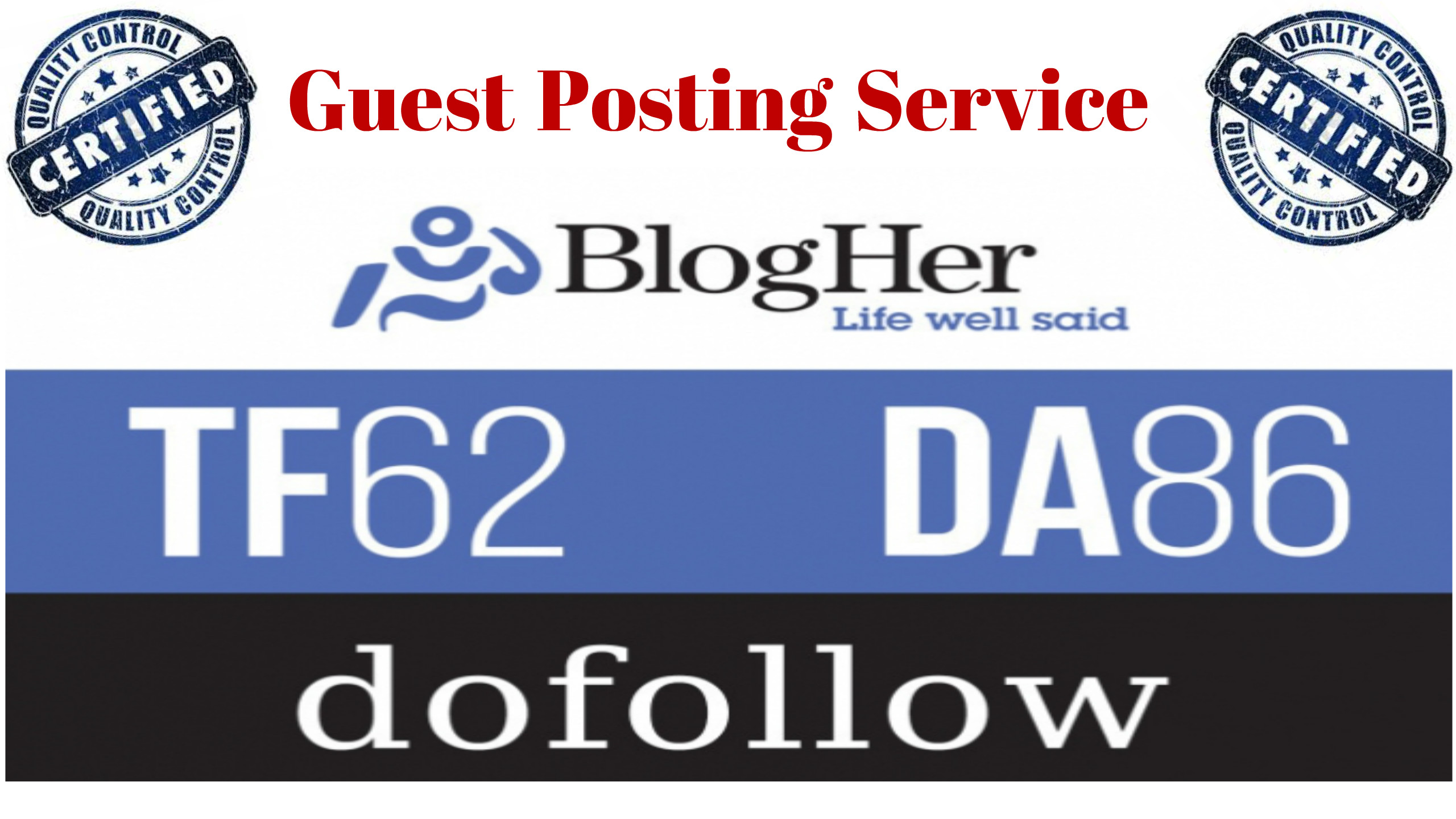 Will publish a Guest Post on Blogher