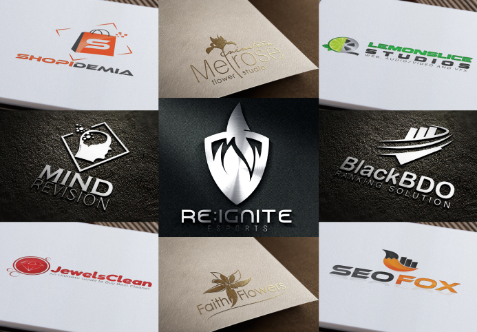 Design 2 elegant, attractive and professional design logo with unlimited revision and free source files