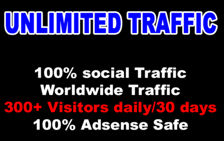 Unlimited SOCIAL NETWORK Traffic for 30 days from ANY...