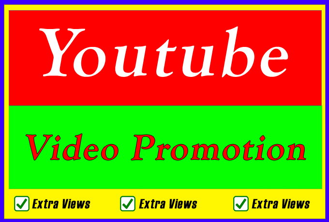 Organic Youtube Video Promotion and Seo Search Ranking Marketing