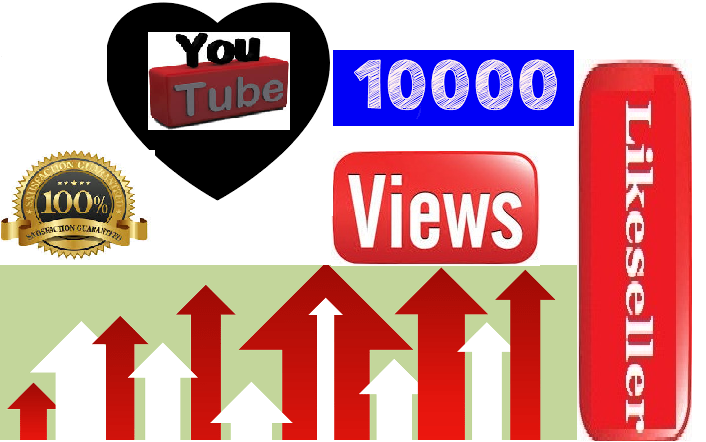 Limit Offer 10000 to 15000 HQ YouTube video vie ws  super fast delivery