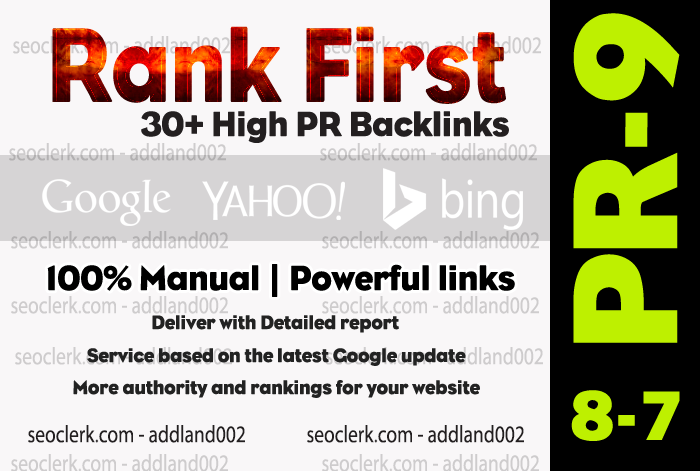 Do 30 Edu Manual backlinks to rank your website on Search results