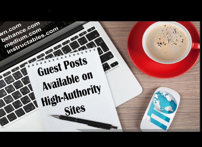 High Pr Guest Posting Behance Instructables Kinja Popular sites