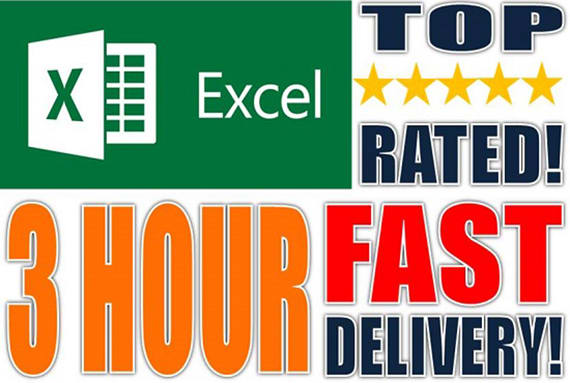 Complete any type of Data Entry work,  15 hours