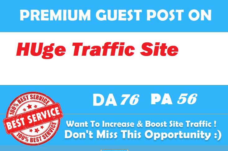 Guest Post On Google News Approved Huge Traffic Site DA75