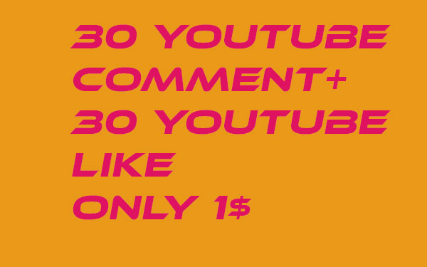 I provide 25 + YouTube custom comment +25 like  +25 Subscri... in your YouTube video increse video ratings
