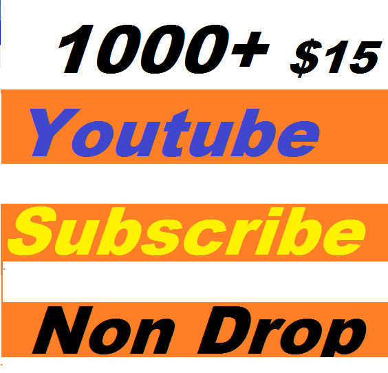 Safe 1000+ Youtube Subscribers Give you Super Fast