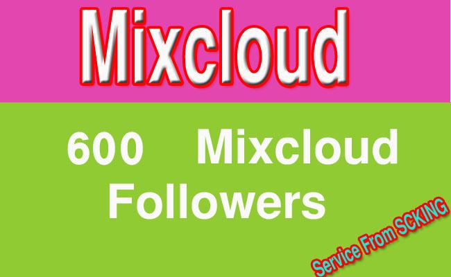 1000  Mixcloud Followers
