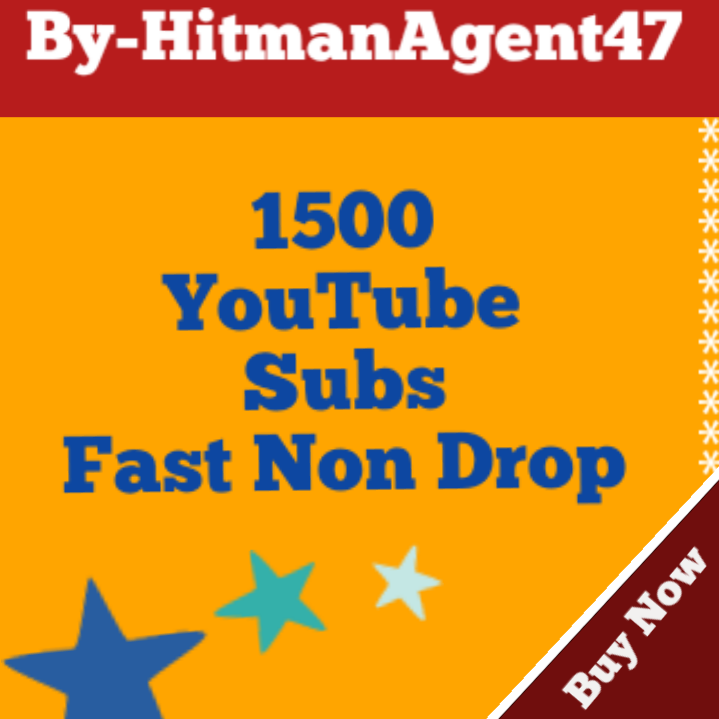 Real 1500+ YouTube Subs-Criber Fast and Non Drop