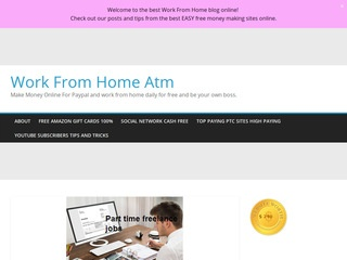 Work From Home Business Blog