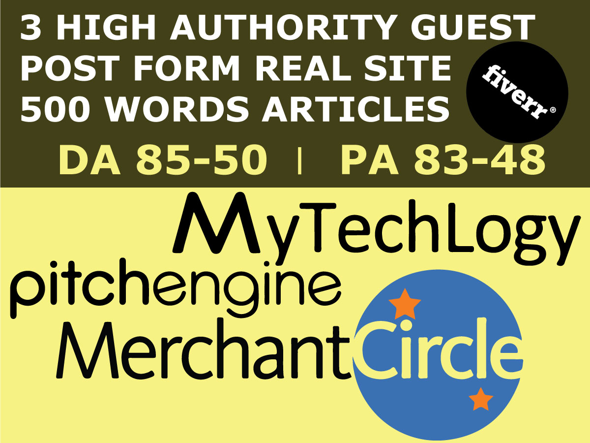 Write And Publish Guest Post On rediff,  MerchantCircle And kiwibox