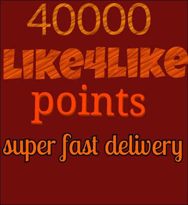 Ready account instant delivery 40k points