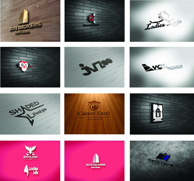 Design a Professional and Eye Catching logo with unlimited revisions