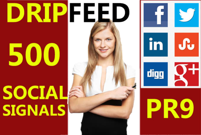 Drip Feed Social Signals Of SEO Strategy
