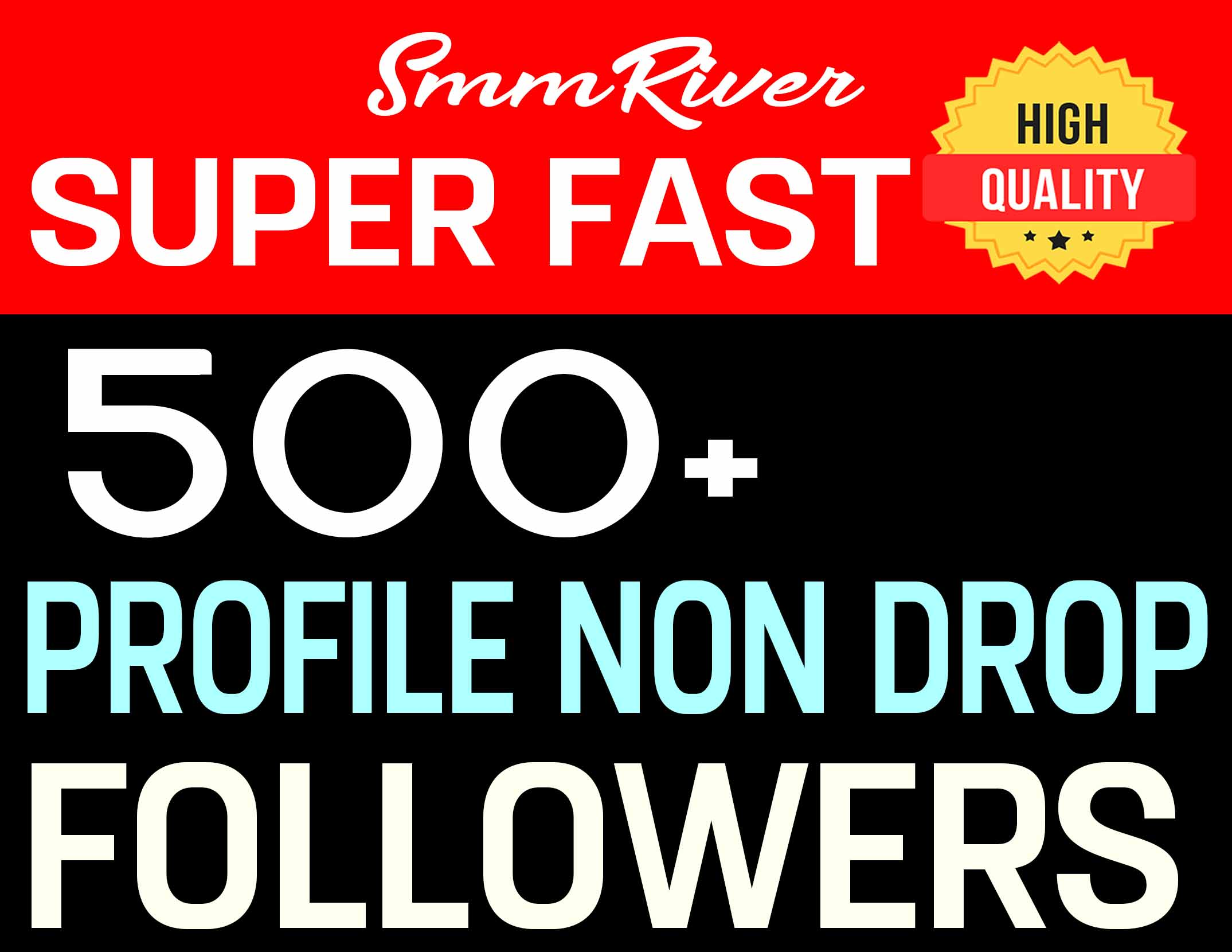 ADD 500+ PROFILE FOLLOWERS REAL HIGH QUALITY AND NON DROP