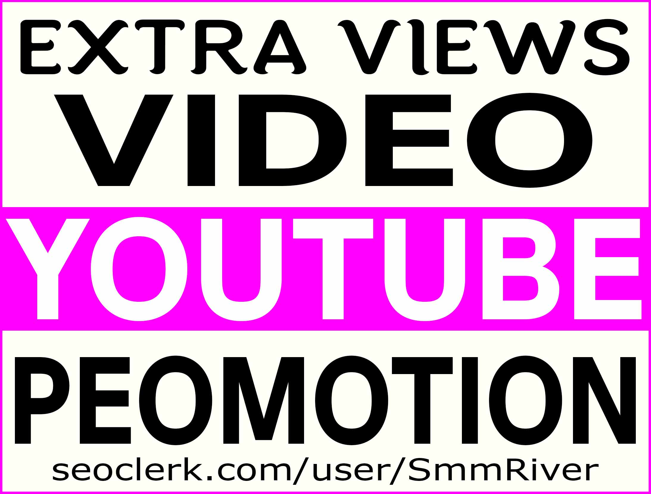 YOUTUBE VIDEO PROMOTION NON DROP & LIFE TIME GUARANTEED