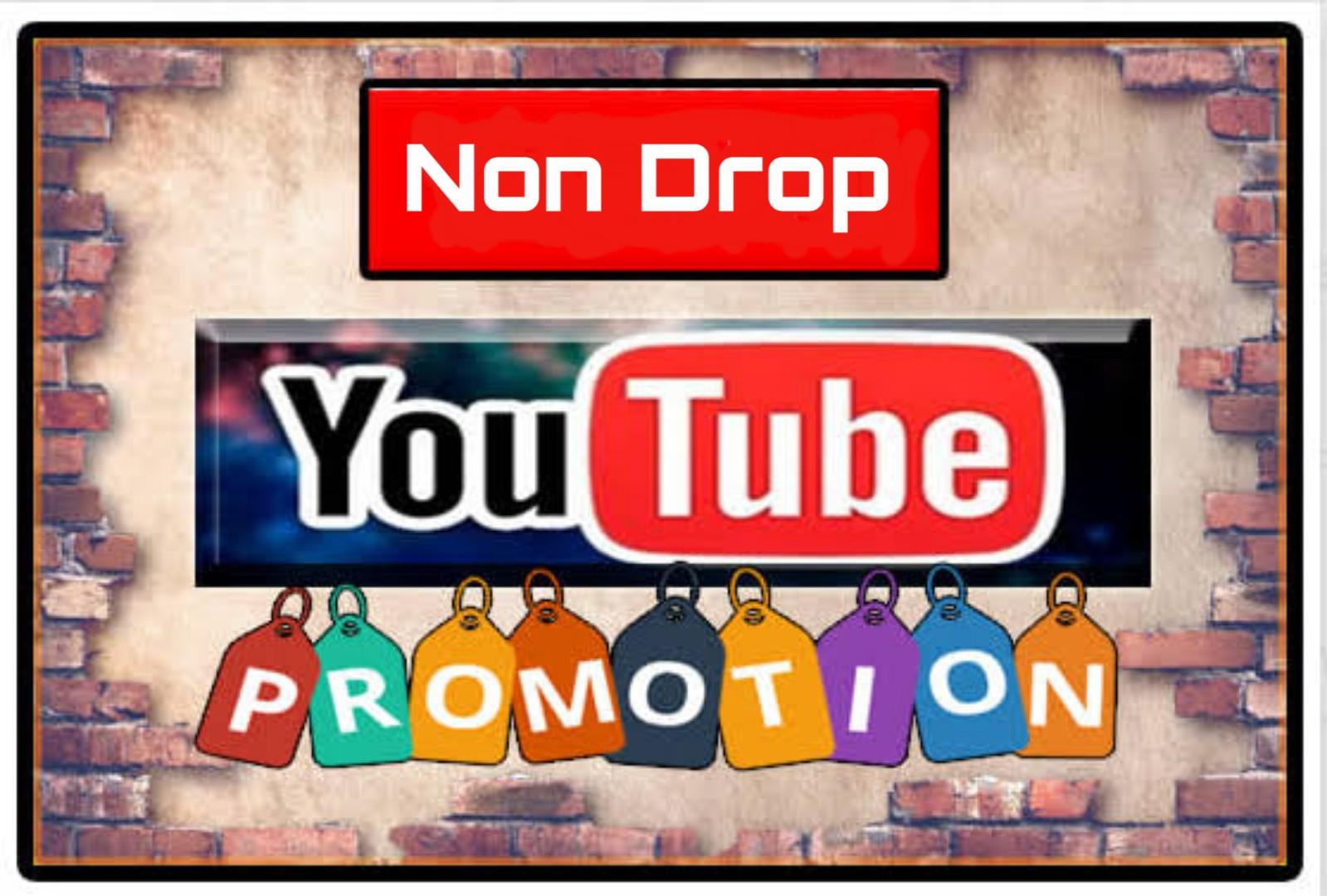 You tube Marketing Video Promotion Life time Guaranteed
