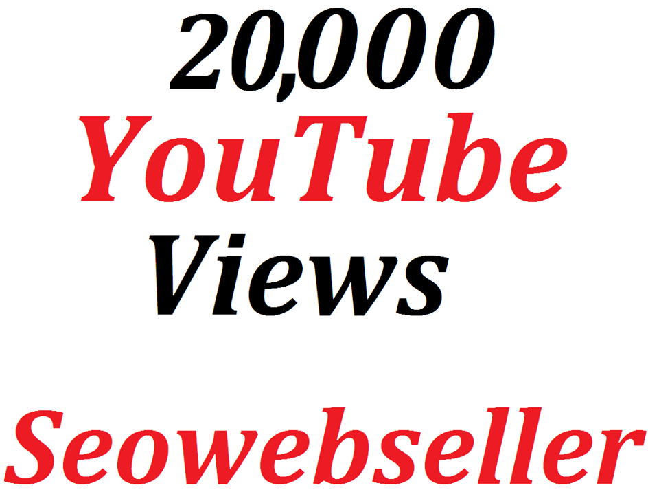 Bumper offer 20,000 HQ You-Tube Vie/ws In Your Video