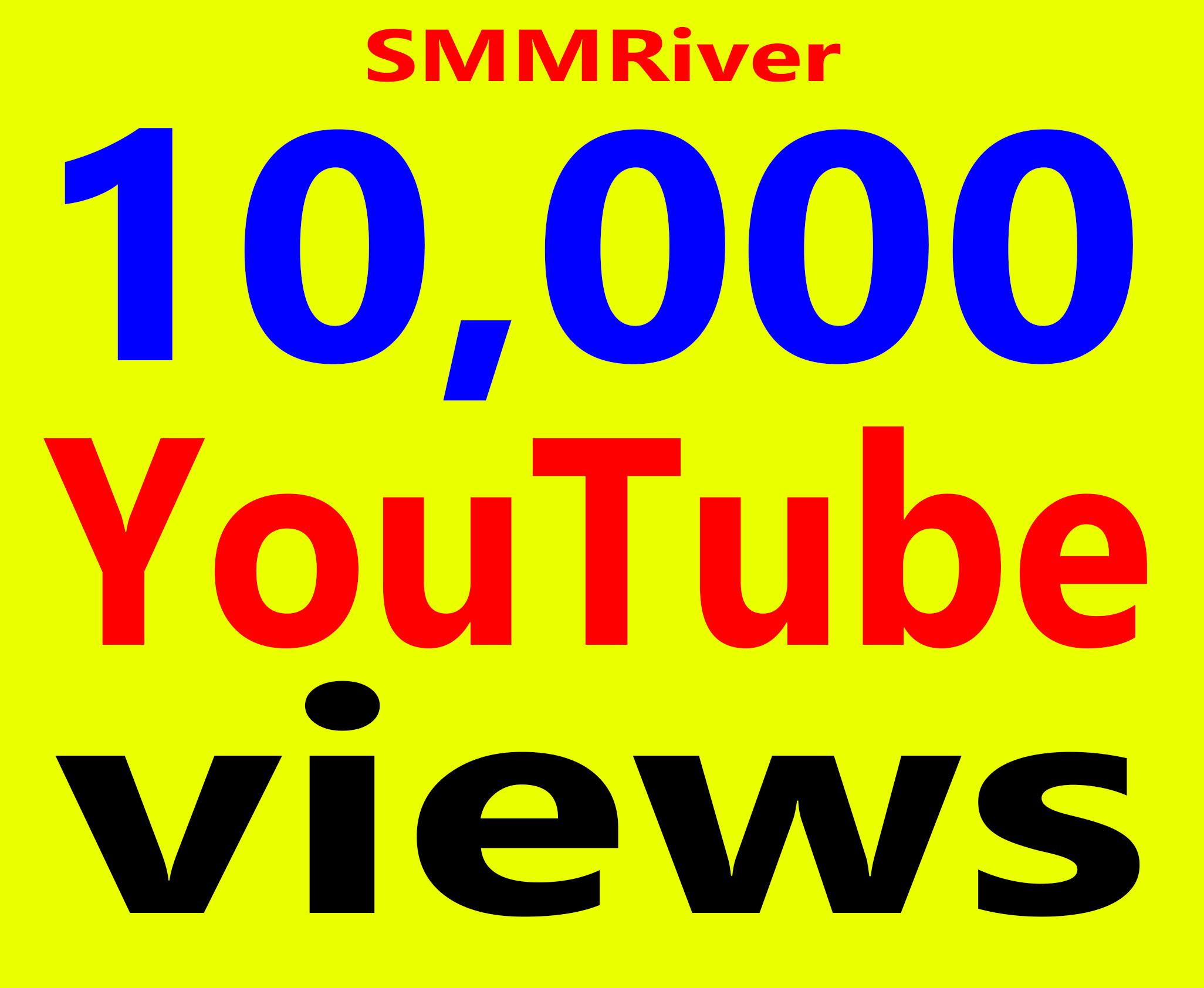 Fast 10,000+ Views High Retention 99% Ad-sense Safe & Non Drop