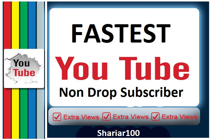 Guarentted 500+ Y-Tube Channel Non Drop S.ubscribes Fastest Delivery