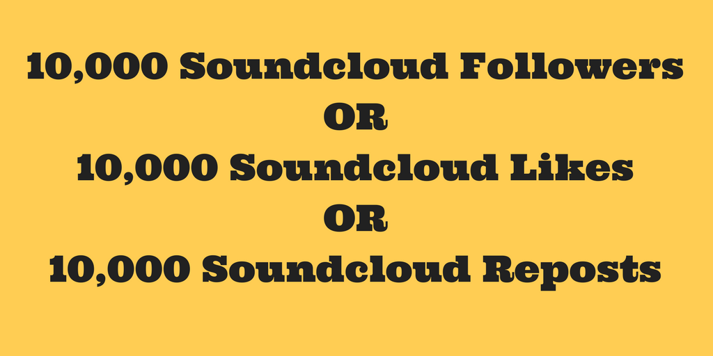 Non Drop 10,000+ Soundcloud Promotion
