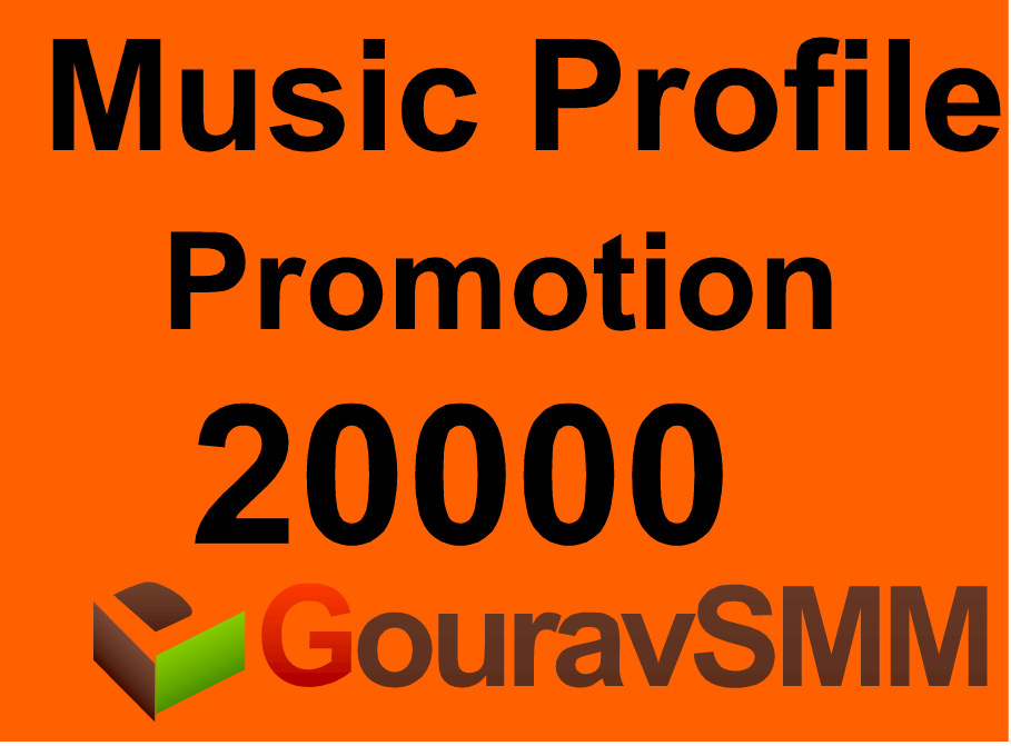 20000 Followers Or Likes Or Repost Music Profile Promotion