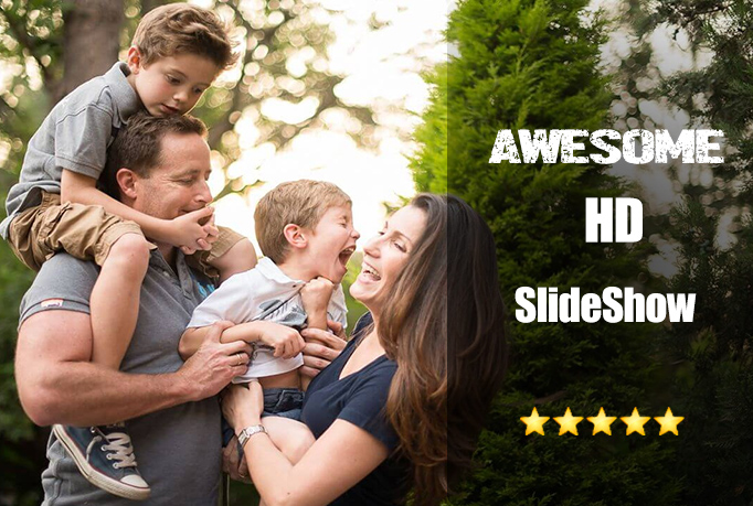 Create Full HD Awesome Slideshow Video
