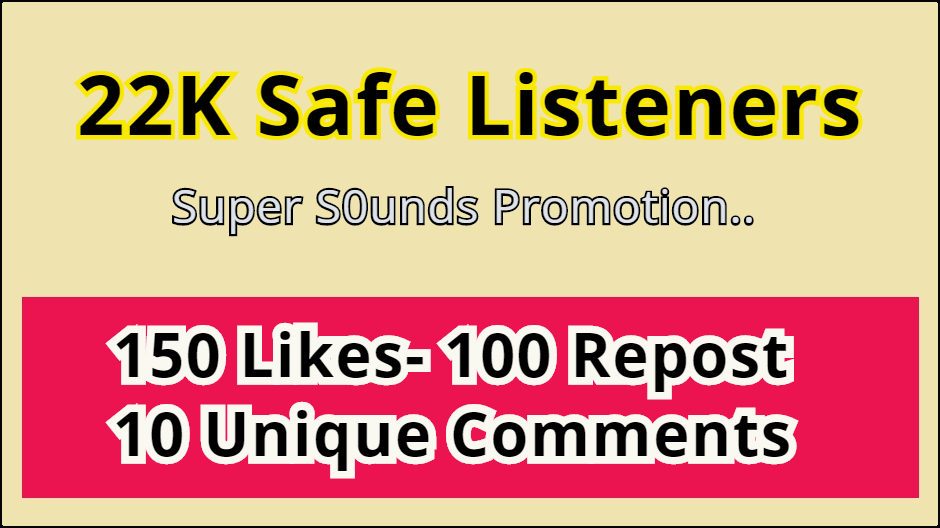Add 22K Listeners Super Music Promotion