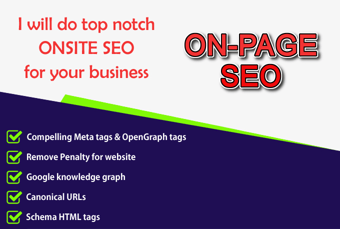 Top Notch Onsite Seo For Your Business Website Or Blog