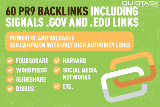 60 PR9 BACKLINKS including SIGNALS, SOCIAL and TUMBLR links