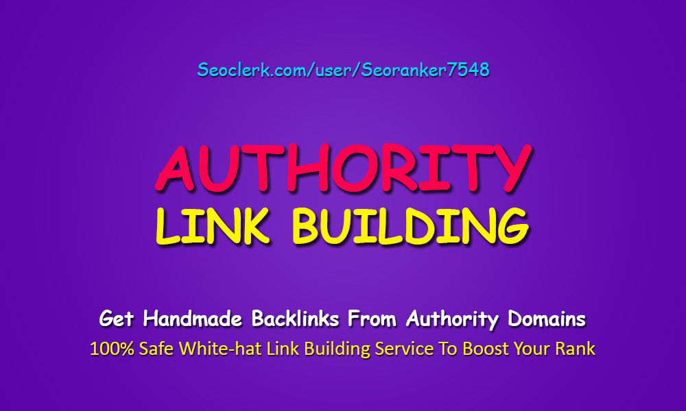 The Link Foundation - Complete White-Hat Authority Rank Booster Link Building Service
