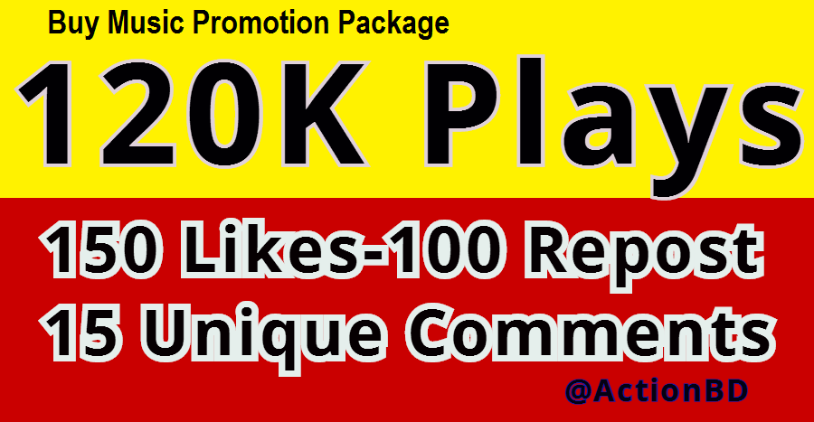 Exclusive Music Promotion 120K Safe Listeners and some engagements