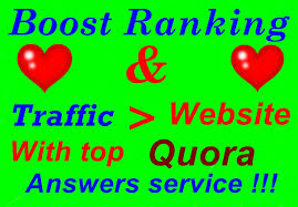 Promote your target product or service with Quora question answer