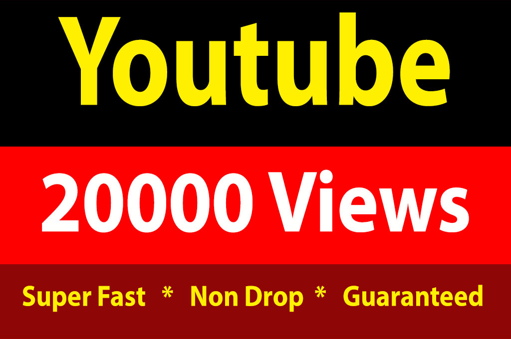 instant 20000 High Quality Vieews Fully Safe Non Drop